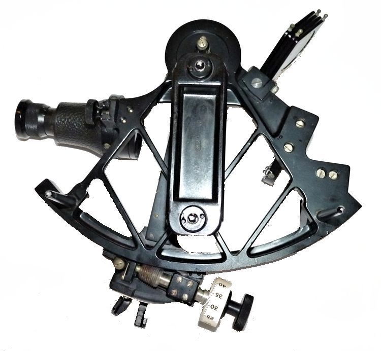 Back of the Kriegsmarine                                     sextant image