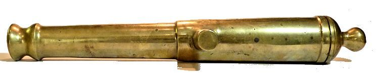 Side view of Continental Navy 24 pounder tube image