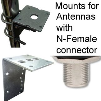Mounts for Antennas with N-female connector