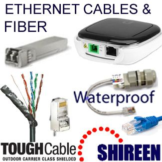 Cables de Red Ethernet y Fiber