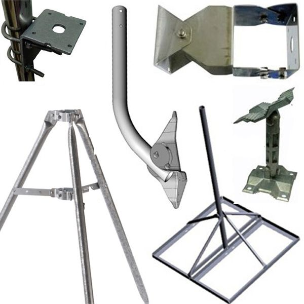 Mounts for antennas and WiFi routers
