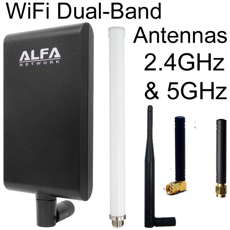 Dual Band Antennas