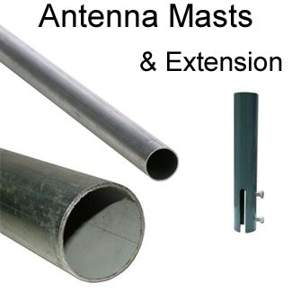 antenna mounting pole
