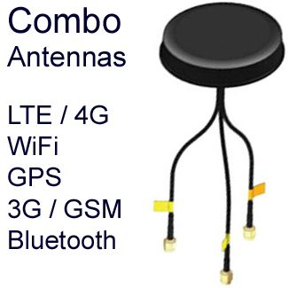 Combination Antennas LTE GPS WiFi Bluetooth 4G 3G