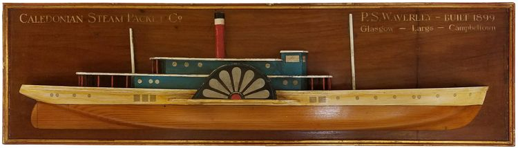 Half Model of waverley