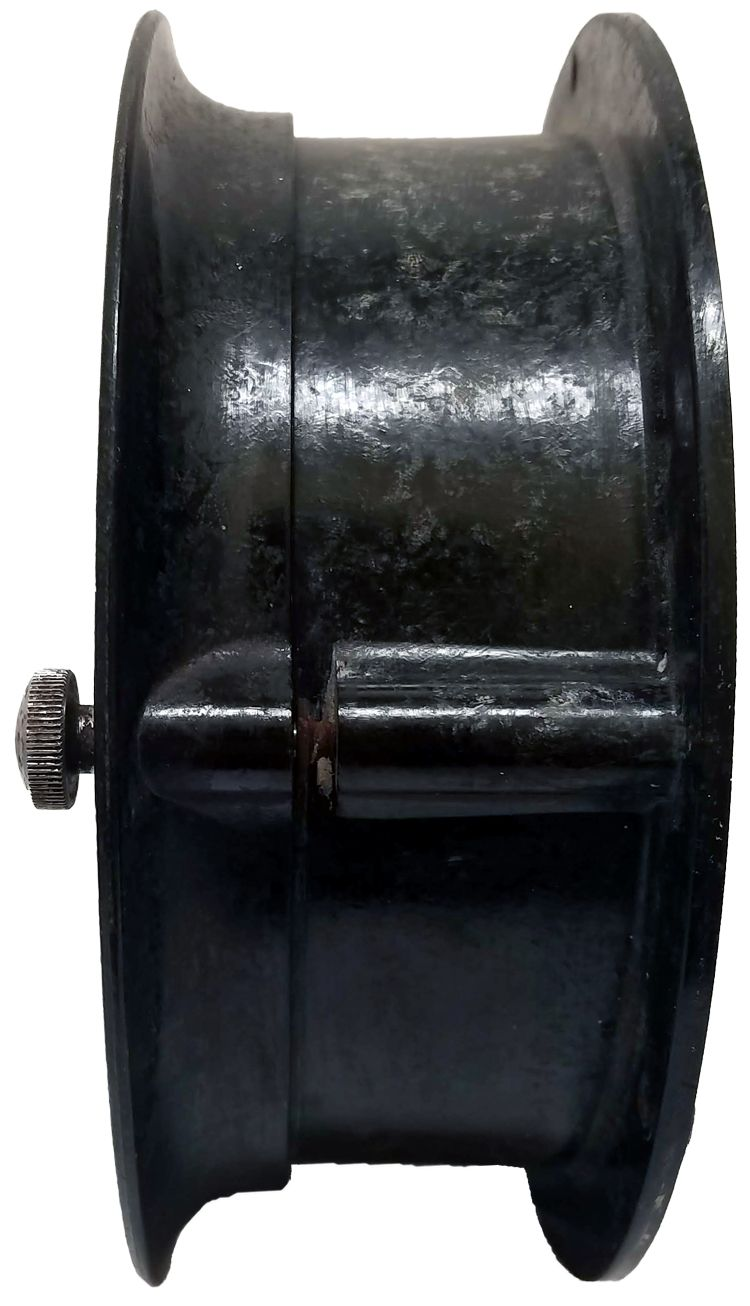 Left quarter view of ship's bell Maritime Commission clock image